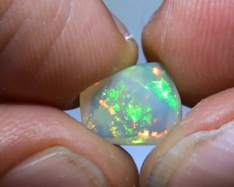 1.95 ct Ethiopian Gem Color Carved Freeform Welo Opal