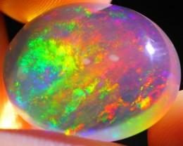 15.15Ct Rainbow ContraLuz Ethiopian Welo Specimen Crystal Opal