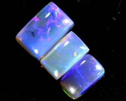 1.2 CTS CRYSTAL OPAL POLISHED PARCEL 3PCS TBO-6915