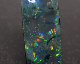 13.44Ct Lightning Ridge Black Opal stone