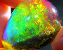 37.03Ct ContraLuz Scenic Inclusion Ethiopian Welo Specimen Crystal Opal