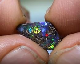 2.20 ct Boulder Opal With Gem Multi Color