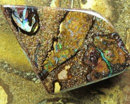 "28cts.""BOULDER MATRIX OPAL~NO MIDDLE MAN"""