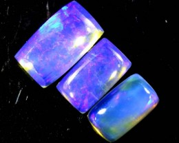 1.2 CTS CRYSTAL OPAL POLISHED PARCEL 3PCS TBO-6931