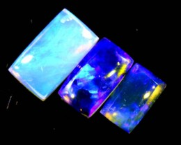 1.25 CTS CRYSTAL OPAL POLISHED PARCEL 3PCS TBO-6932