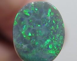 2.07Ct Lightning Ridge Black Opal stone