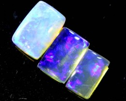 1.2 CTS CRYSTAL OPAL POLISHED PARCEL 3PCS TBO-6937