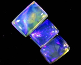 3.90 CTS CRYSTAL OPAL POLISHED PARCEL 3PCS TBO-6942