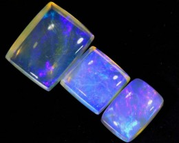 3.6 CTS CRYSTAL OPAL POLISHED PARCEL 3PCS TBO-6953