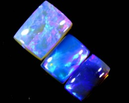 2.85 CTS CRYSTAL OPAL POLISHED PARCEL 3PCS TBO-6955