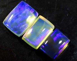 3.7 CTS CRYSTAL OPAL POLISHED PARCEL 3PCS TBO-6959