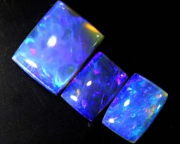 3.7 CTS CRYSTAL OPAL POLISHED PARCEL 3PCS TBO-6961