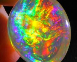 20.10Ct RAINBOW ContraLuz Ethiopian Welo Specimen Crystal Opal