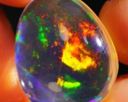 9.10Ct Crystal Flash Ethiopian Welo Specimen Crystal Opal