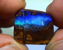 11.25 ct Boulder Opal Natural Blue