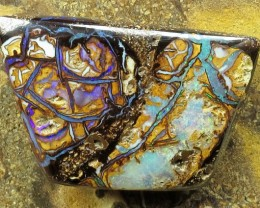 "19cts.""BOULDER MATRIX OPAL~FROM OUR ACTIVE MINES"""