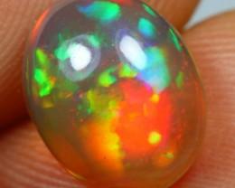 2.55cts Flashing Multi Fire Ethiopian Opal