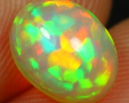 1.45cts AAA HEXAGON FLAGSTONE Natural Untreated Ethiopian Welo Opal
