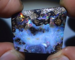 23.30 ct Boulder Opal With Gem Multi Color