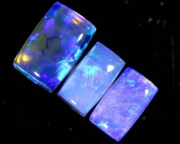 1.75CTS CRYSTAL OPAL POLISHED PARCEL 3PCS TBO-6974