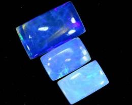 1.2 CTS CRYSTAL OPAL POLISHED PARCEL 3PCS TBO-6981