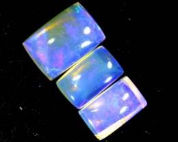 1CTS CRYSTAL OPAL POLISHED PARCEL 3PCS TBO-6985