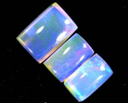 1.25CTS CRYSTAL OPAL POLISHED PARCEL 3PCS TBO-6986
