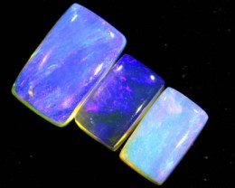 1.45CTS CRYSTAL OPAL POLISHED PARCEL 3PCS TBO-6990