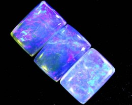 1.4CTS CRYSTAL OPAL POLISHED PARCEL 3PCS TBO-6991
