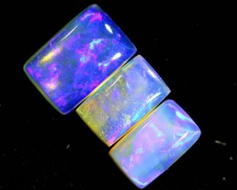 1.2CTS CRYSTAL OPAL POLISHED PARCEL 3PCS TBO-6992