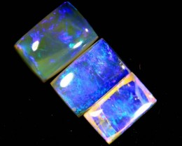 1.35CTS CRYSTAL OPAL POLISHED PARCEL 3PCS TBO-6996