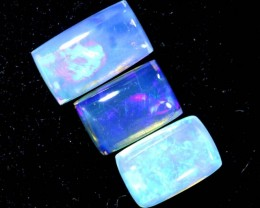 1.4CTS CRYSTAL OPAL POLISHED PARCEL 3PCS TBO-6997