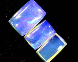 1.35CTS CRYSTAL OPAL POLISHED PARCEL 3PCS TBO-6998