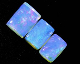 3.5CTS CRYSTAL OPAL POLISHED PARCEL 3PCS TBO-7000