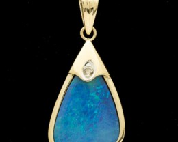Black Boulder Opal Pendant 5.03ct (LP150)