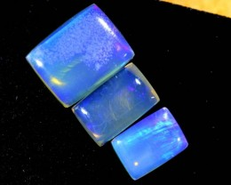 4 CTS CRYSTAL OPAL POLISHED PARCEL 3PCS TBO-7102