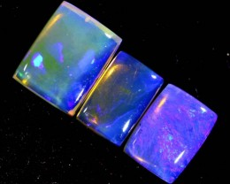 4.3CTS CRYSTAL OPAL POLISHED PARCEL 3PCS TBO-7108