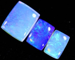 3.1CTS CRYSTAL OPAL POLISHED PARCEL 3PCS TBO-7110