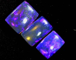 3.55CTS CRYSTAL OPAL POLISHED PARCEL 3PCS TBO-7112