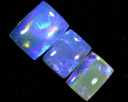 3.5CTS CRYSTAL OPAL POLISHED PARCEL 3PCS TBO-7113