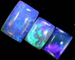 3.2CTS CRYSTAL OPAL POLISHED PARCEL 3PCS TBO-7114