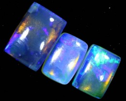 3.35CTS CRYSTAL OPAL POLISHED PARCEL 3PCS TBO-7115