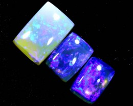 3.55CTS CRYSTAL OPAL POLISHED PARCEL 3PCS TBO-7117