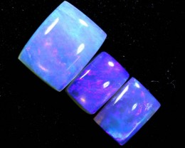 3.5CTS CRYSTAL OPAL POLISHED PARCEL 3PCS TBO-7118
