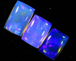 3.10CTS CRYSTAL OPAL POLISHED PARCEL 3PCS TBO-7119
