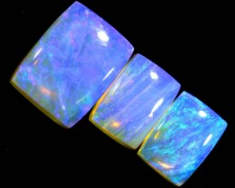 4.3CTS CRYSTAL OPAL POLISHED PARCEL 3PCS TBO-7120