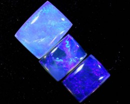 2.8CTS CRYSTAL OPAL POLISHED PARCEL 3PCS TBO-7122