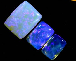 3.75CTS CRYSTAL OPAL POLISHED PARCEL 3PCS TBO-7123