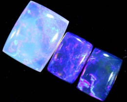 3.7CTS CRYSTAL OPAL POLISHED PARCEL 3PCS TBO-7124