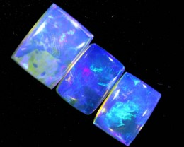 3.6CTS CRYSTAL OPAL POLISHED PARCEL 3PCS TBO-7126